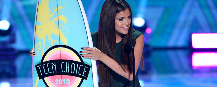Nominacja Seleny Gomez do Teen Choice Awards 2019