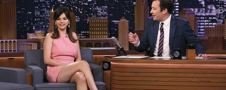 "Selena Gomez jako gość wieczoru w programie ""The Tonight Show With Jimmy Fallon"""